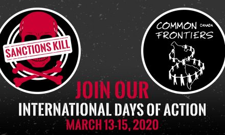 Call to Action for International Days of Action Against  Sanctions and Economic War – March 13 – 15, 2020
