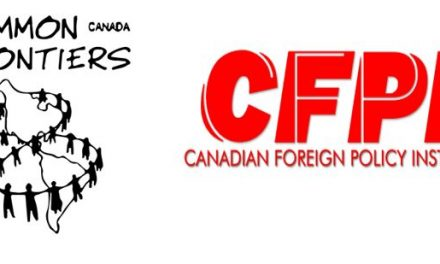 Common Frontiers & Canadian Foreign Policy Institute join forces